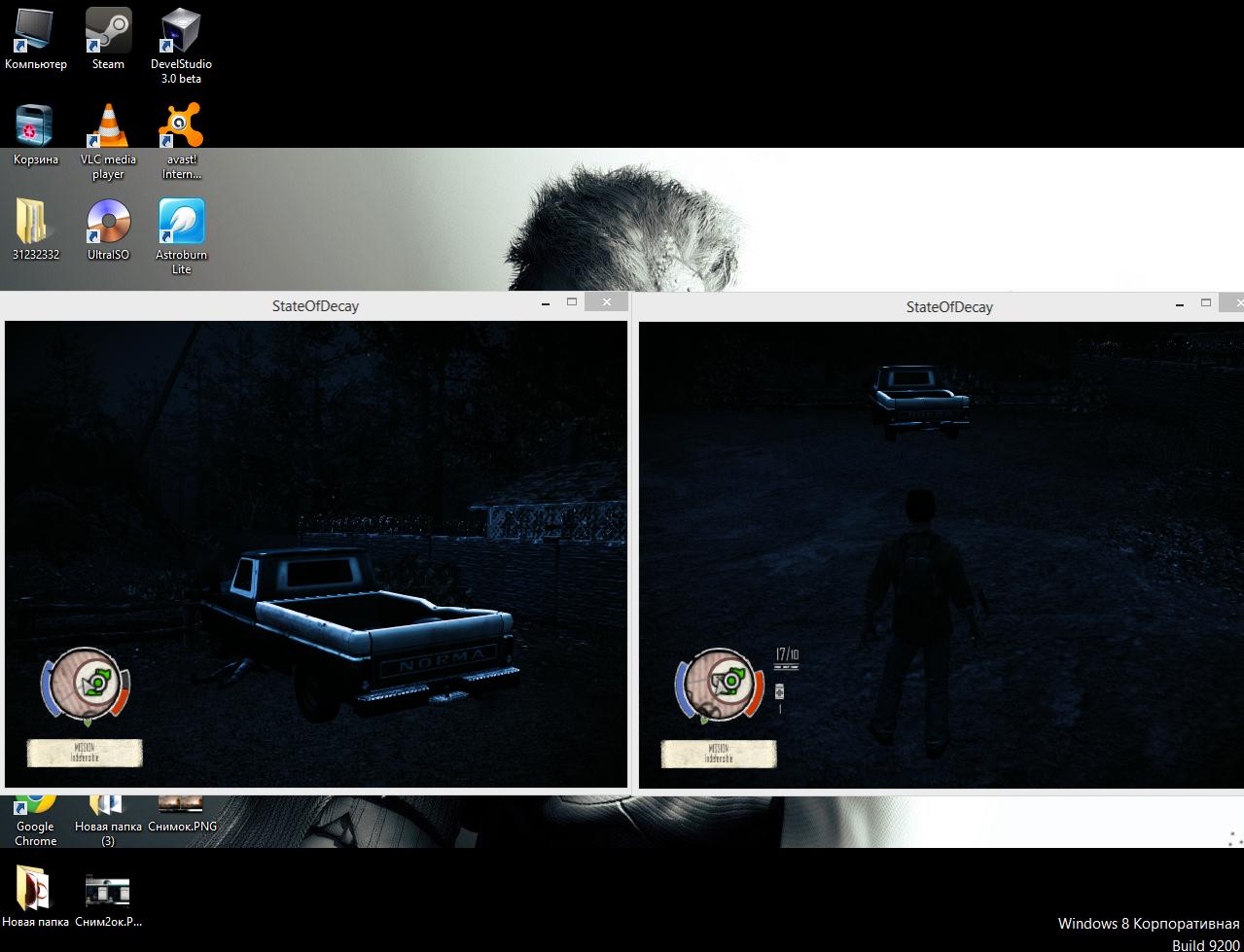 Как сделать state of decay на полном экране