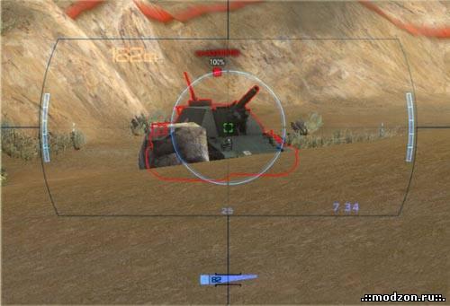 Как сделать снайперский прицел в вот